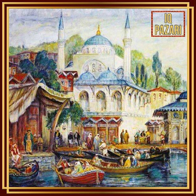7. 1914 Kuşağı'ndan bir diğer ressam İbrahim Çallı.