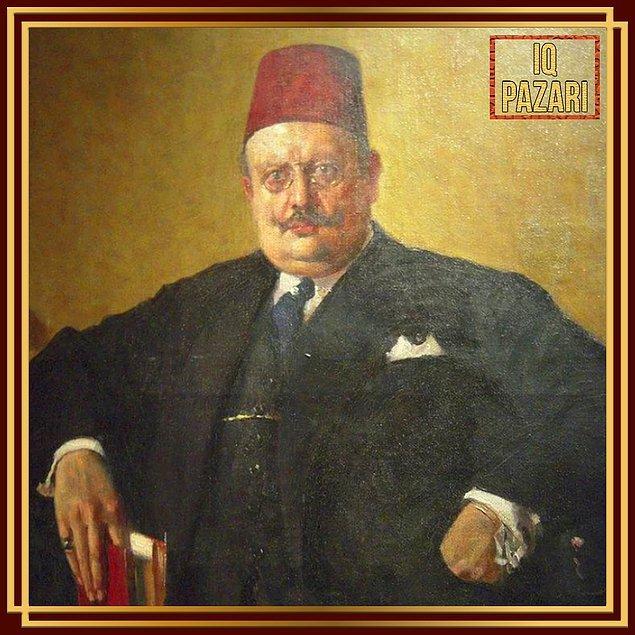4. 1886'da doğup 1970'da aramızdan ayrılan Feyhaman Duran'ın Celaleddin Arif Bey tablosu...