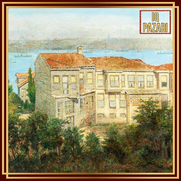 15. Hüseyin Zekai Paşa, Üsküdar'dan tablosuna dikkatli bakıldığında da anlaşılacağı üzere Batılı bir anlayışı benimsedi.