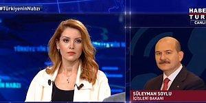 Süleyman Soylu, Nagehan Alçı'nın Eleştirileri Üzerine Canlı Yayına Bağlandı: 'Sizin Yaptığınız Haksız İsnattır'