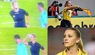 Maçta Yaptığı Şaka ve Gülüşüyle Gönülleri Fetheden Kadın Hakem: Fernanda Colombo