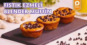 Fıstık Ezmenizi Bile Kendiniz Yapabilirsiniz! Ev Yapımı Fıstık Ezmeli Blender Muffin Nasıl Yapılır?