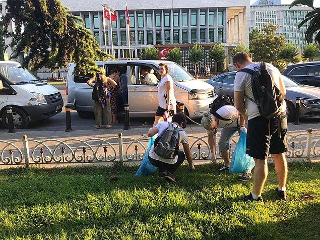 Sosyal medya kullanıcıları, 'her ilçede bu tarz etkinlikler yapılsa' temennisinde de bulundu.