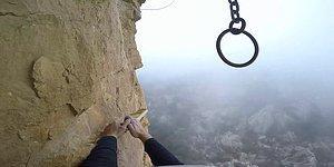 Tırmanış Yapan Adamın Kafa Kamerası ile Kaydettiği, İzlerken Yutkunmakta Dahi Zorlanacağınız Adrenalin Dolu Görüntüleri!