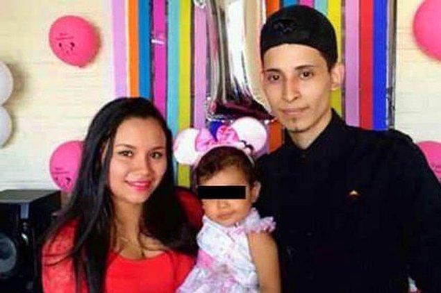 Oscar ve 11 aylık kızı Valeria, Meksika ile ABD'yi ayıran Rio Bravo Nehri'nden geçerken hayatını kaybetti.
