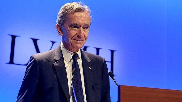Arnault'un serveti geçtiğimiz yıl 32 milyar dolar arttı