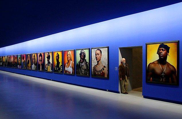 Sanata yoğun ilgisi olan Arnault, geniş bir koleksiyona sahip
