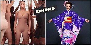 Kim Kardashian Yeni Korse Markası İçin Kimono Kelimesinin Haklarını Satın Aldı, Tepkiler Gecikmedi
