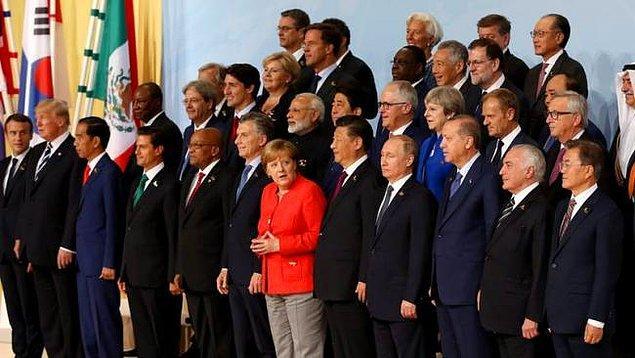 'G-20 zirvesine katılacak'