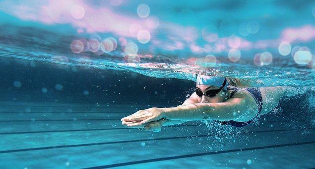 9. Yüzme