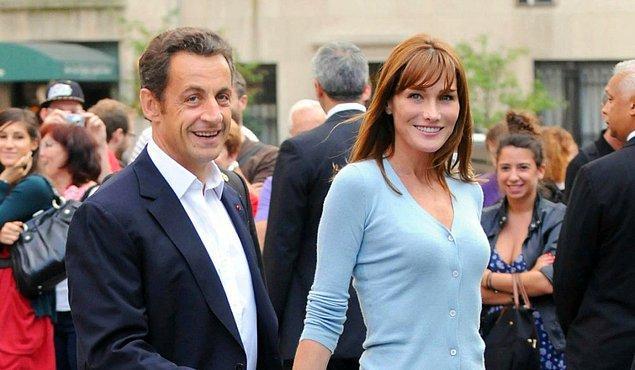 1. Fransa'nın eski cumhur başkanı Nicolas Sarkozy'nin güzel eşi Carla Bruni'nin first lady olmadan önceki mesleği neydi?