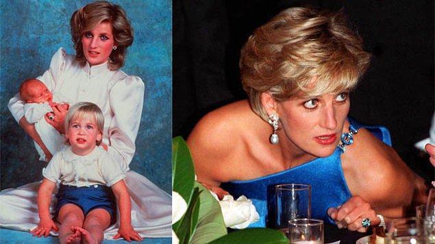 """6. Tüm dünyanın hayran olduğu Lady Diana, halkın """"Prensesin gizli hastalığı"""" dediği bir hastalığı vardı. Neydi onun herkesten bir sır gibi sakladığı bu hastalık?"""