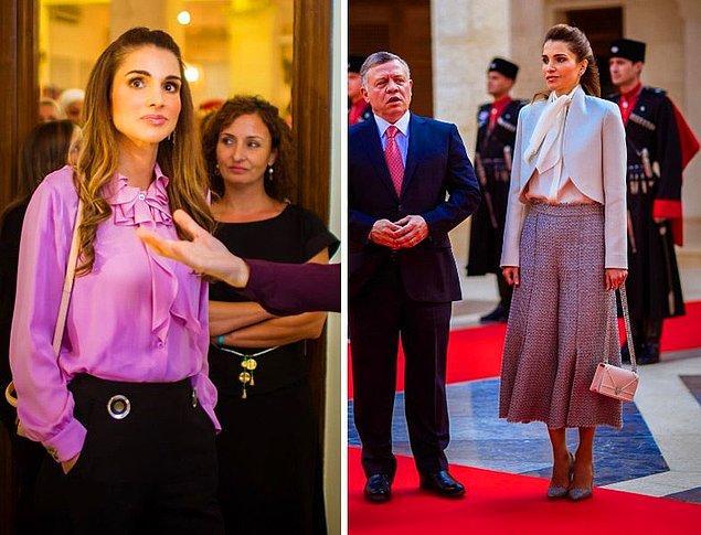 7. Ürdün Kraliçesi Rania el-Abdullah, yurt içinde ve dışında yaptığı sayısız yardımlarla biliniyor. Sosyal çabaları nedeniyle 2015'te hangi devlet başkanı tarafından Walther-Rathenau Ödülü'nü aldı?