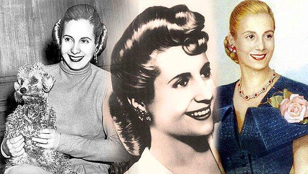 14. Arjantin'in dünyaca ünlü first lady'si Eva Peron'u beyaz perdede, müzikal bir türde hangi sanatçı canlandırmıştı?