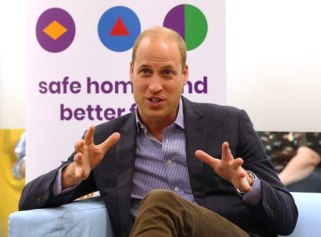 Geçtiğimiz gün Prens William, evsiz olan LGBTQ gençleri için kurulan bir derneği ziyarete gitti.