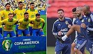 Copa America'da Erken Final: Brezilya-Arjantin