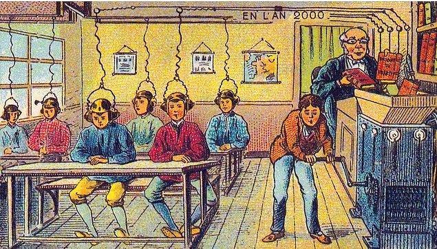 2. Yüksek teknolojili eğitim sistemi