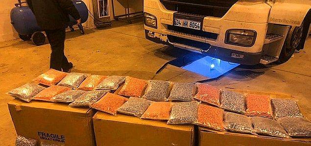 Türkiye, uyku ilacı ve yatıştırıcı maddenin en çok yakalandığı dördüncü ülke.