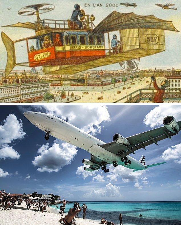 5. Uçaklar