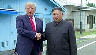 Kuzey Kore'ye Ayak Basan İlk ABD Lideri Oldu: Trump, Kim Jong-un ile 'El Sıkışmak' İçin Silahsızlandırılmış Bölgede
