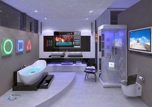 15. Otomatik, teknolojik banyolar