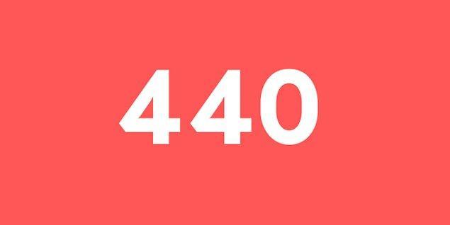 Üniversite sınav sonucun 440 puan!
