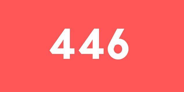 Üniversite sınav sonucun 446 puan!