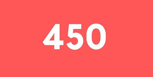 Üniversite sınav sonucun 450 puan!