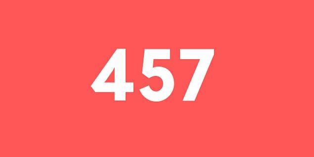 Üniversite sınav sonucun 457 puan!