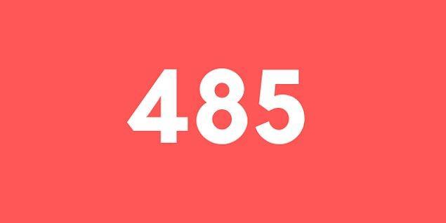 Üniversite sınav sonucun 485 puan!
