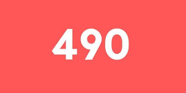 Üniversite sınav sonucun 490 puan!