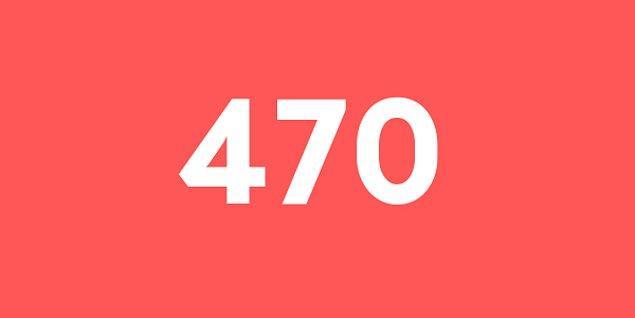Üniversite sınav sonucun 470 puan!