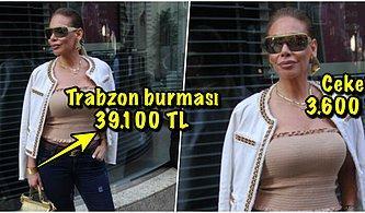 Trabzon Burması Bile Var! Ünlü Şarkıcı Linet'in Üstünde Bir Araba Parası Taşıdığı 'Sokak Stili' Sizi Şok Edecek!