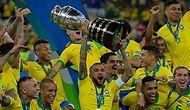 Copa America'da Şampiyon 9.Kez Brezilya!