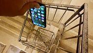 30. Kattan Merdiven Boşluğuna Bırakılan iPhone XS'e Acımasız Sağlamlık Testi!
