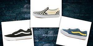 Vans marka ayakkabı modellerinde indirim Yalı Spor'da!