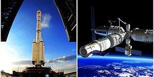 Çin'in Daha Önce İki Astronota da Ev Sahipliği Yapan 8.5 Tonluk Uzay İstasyonu, 19 Temmuz'da Dünya'ya Düşecek