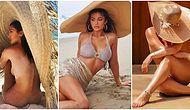 Kylie Jenner da Akıma Katılmıştı: Sadece Bir Şapkayla Verilen Seksi Poz Instagram'ı Sallıyor