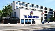 2019 TED Üniversitesi Taban Puanları ve Başarı Sıralamaları
