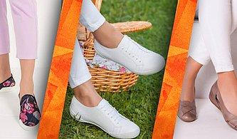 Ayaklarınız Sizi İndirime Doğru Götürüyor! Günlük Ayakkabılarda Kadınlara Özel Fırsatlar Başladı!