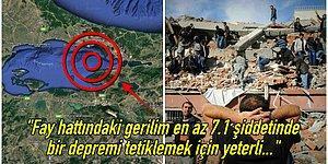 Bilim İnsanları Marmara Denizi'nin Tabanını İnceledi: İstanbul'da En Az 7.1 Şiddetinde Bir Deprem Olması Bekleniyor!