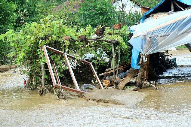 24 saatte metrekareye Akçakoca ilçesinde 84,7, Cumayeri ilçesinde 75, Çilimli ilçesine 72 ve Kardüz Yaylası'na tam 161,7 kilogram yağış düştü.