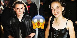 Stranger Things'in Eleven'ı Millie Bobby Brown ve Natalie Portman'ın Benzerliği İnternet Aleminin Dilinde