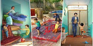 90'lı Yıllarda Nasıl Bir Çocukluk Geçirdiğimizi Bütün Samimiyeti ile Çizimlerine Döken İranlı İllüstratör