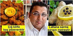 Rakı Edebiyatını Farklı Bir Noktaya Çekerek Yemeklere Ayıp Sözler Fısıldayan Beyefendinin Aşırı İlginç Metaforları