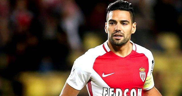 27. Radamel Falcao / Monaco  ➡️ Galatasaray