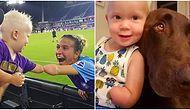 Tek Uzuvları Olmayan Futbolcu ve Bebeğin Selamlaşması Sevginin Engellerin Ötesinde Olduğunu Bir Kez Daha Gösterdi