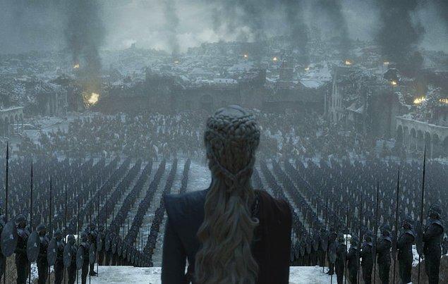Dizinin son bölümünü yaklaşık 20 milyon kişi izledi.
