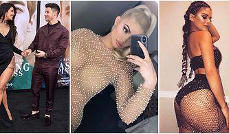 Ünlülerin Yeni Takıntısı Haline Geldiği İçin Yakın Zamanda Popüler Olması Beklenen Kristal Taşlı Transparan Kıyafetler