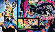 Böylesini Daha Önce Görmedik: Ünlü Simaları Özgün Grafiti Tarzıyla Buluşturan Sanatçıdan Görsel Şölen Tadında Çalışmalar